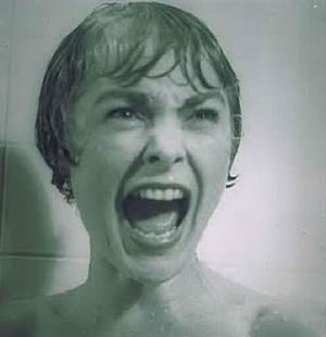 Psyco urlo nella doccia